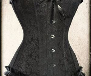 baroque, black lace, and goth image