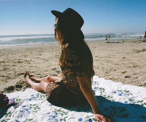 girl, hipster, and vintage image