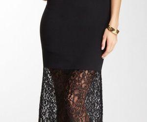 black, elegant, and style image