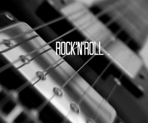 guitar and rock n roll image