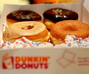 donuts, sweet, and food image