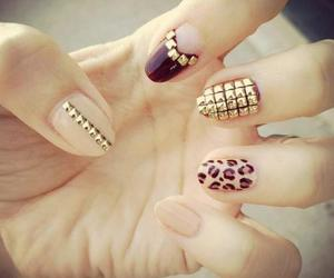 fashion, manicure, and gold image