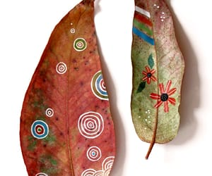 leaves and art image