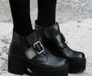 beautiful, boots, and dark image