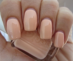 girl, manicure, and Nude image