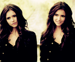 katherine, Nina Dobrev, and the vampire diaries image