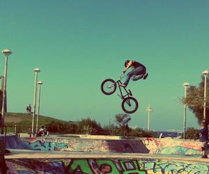 bike, bmx, and fly image