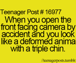 teenager post, funny, and camera image