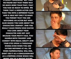 actor, awesome, and Jensen Ackles image