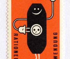 nostalgie, pin, and postmark image