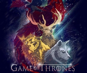 game of thrones, got, and stark image