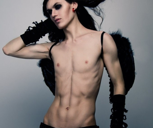 abs, gothic, and Hot image