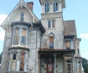 haunted and house image