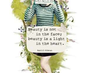 beaury and quote image
