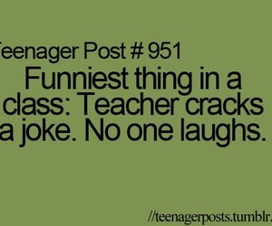 funny, teacher, and teenager post image