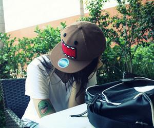 domo, tattoo, and cap image