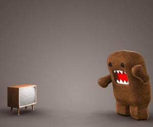 domo, domo kun, and tv image