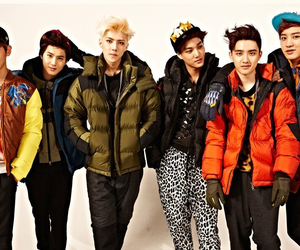 cute boys, exo, and fashion image