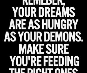 Dream, demons, and quotes image