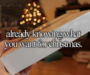 christmas, gift, and justgirlythings image