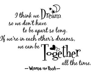 Dream, winnie the pooh, and quotes image