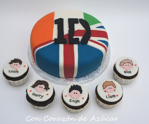 cake, one direction, and food image