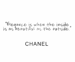 beautiful, heart, and chanel image