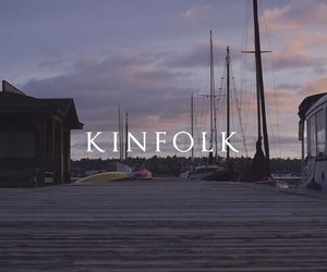 boat, sailing, and kinfolk magazine image