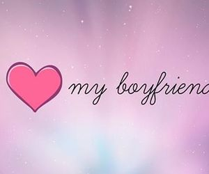 boyfriend, pink, and i love my boyfriend image