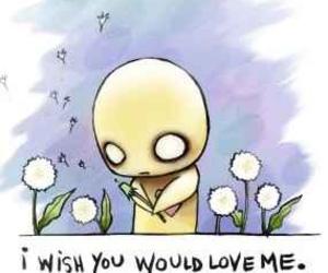 love, sad, and wish image