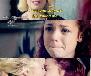 skins, Naomily, and love image