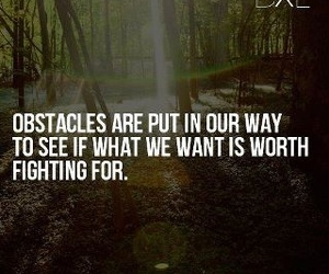 life and obstacles image