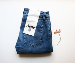 acne, jeans, and fashion image
