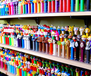 pez, candy, and collection image