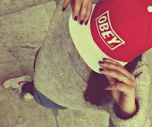 obey, swag, and nike image