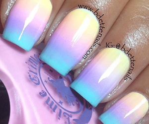 nails, amazing, and colours image
