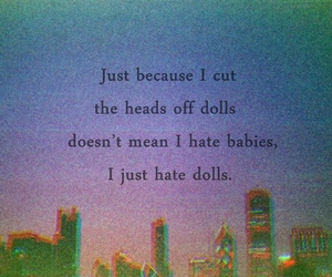 baby, dolls, and quote image