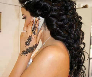 <3, henne, and hair image