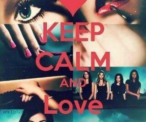 pretty little liars, pll, and keep calm image
