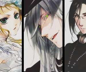 Elizabeth, undertaker, and kuroshitsuji image