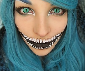 make-up and halloween makeup image