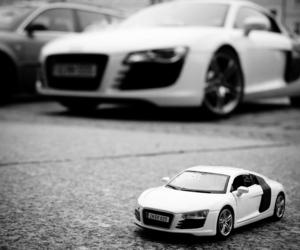audi, auto, and blackandwhite image