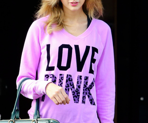 pink, Taylor Swift, and love image