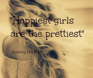 happy, pretty, and audrey image