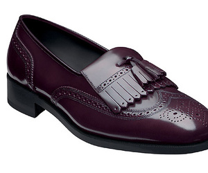 oxford, purple, and shoes image