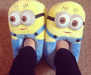 minions, slippers, and shoes image
