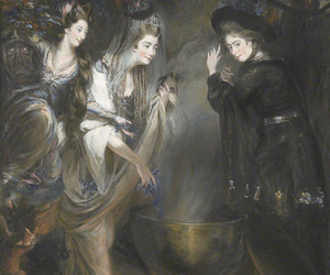 Halloween, paiting, and victorian image