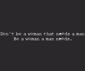 woman, man, and quote image