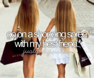shopping, friends, and best friends image