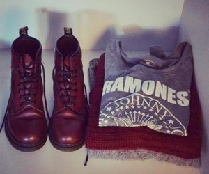 fashion, ramones, and clothes image